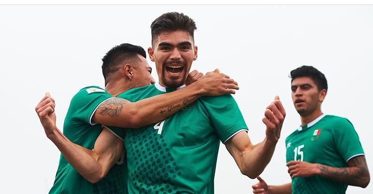 Johan Vásquez festejando su gol contra Ecuador